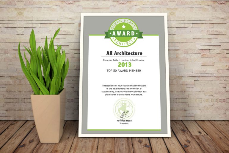 Green Planet Award 2013