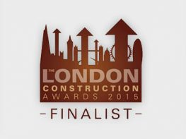 The London Construction Awards 2015 finalist