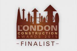 The London Construction Awards 2015 finalist