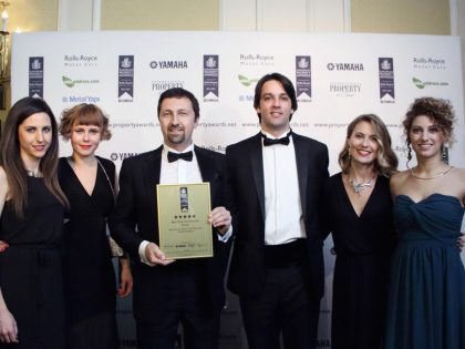 AR Architecture at European Property Awards Gala