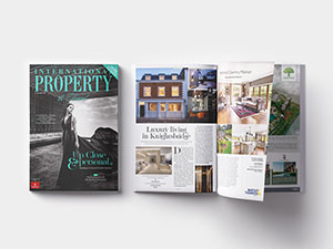 Feature in International Property & Travel