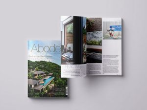 Feature in Abode2 magazine